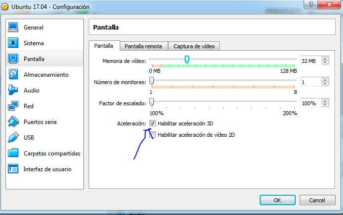 Ubuntu 17.04 aceleracion 3D