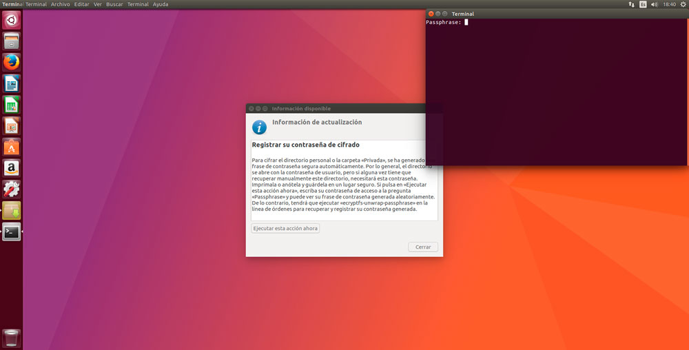 Ubuntu 17.04 cifrado
