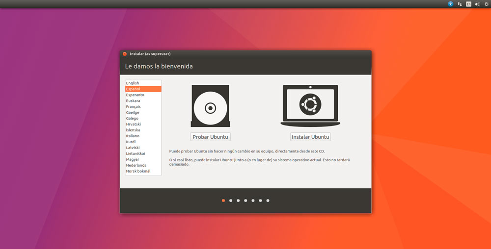 Ubuntu 17.04 idioma