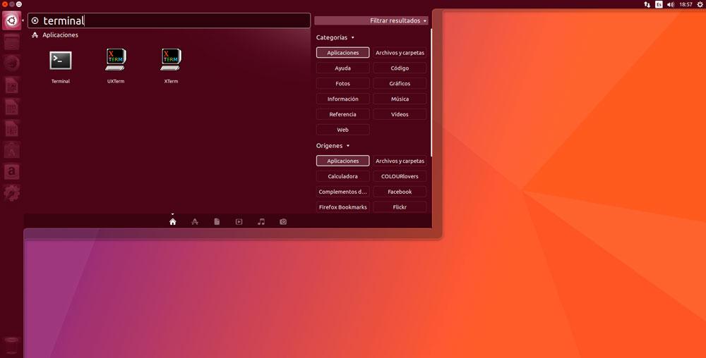Ubuntu 17.04 terminal