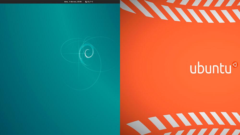 Comparacion Debian Ubuntu