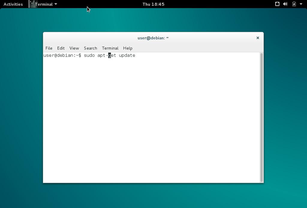Debian actualizar programas