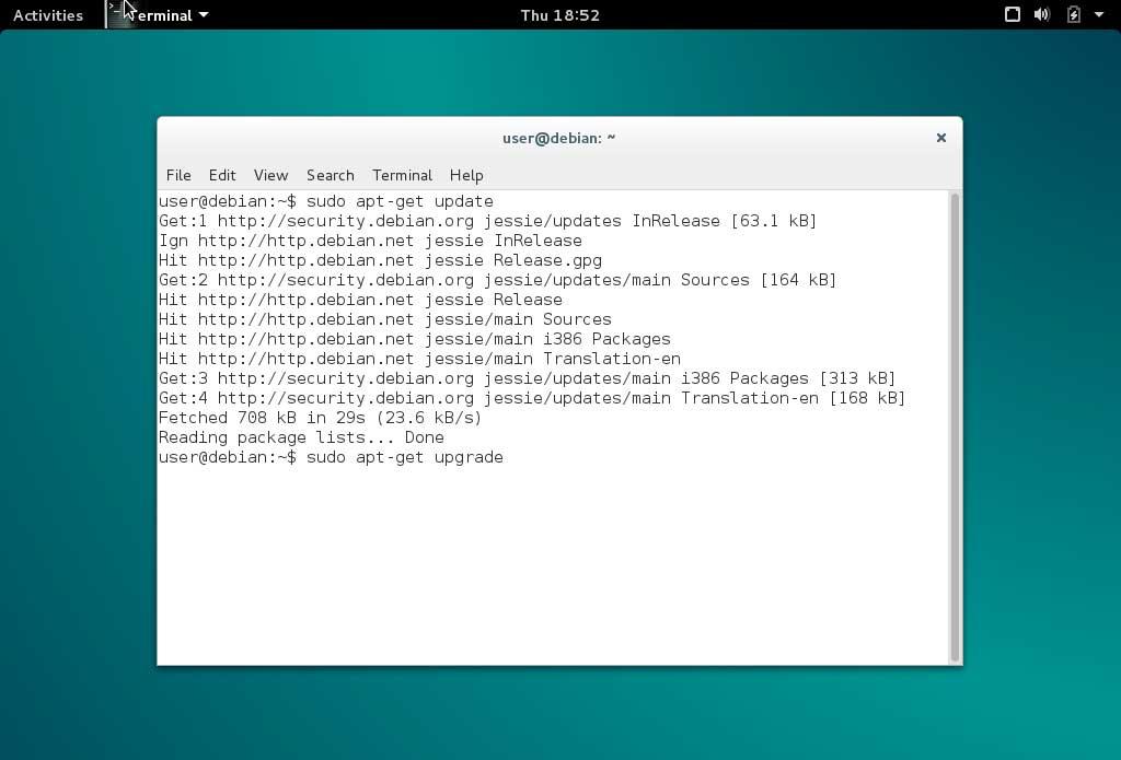 Debian Upgrade