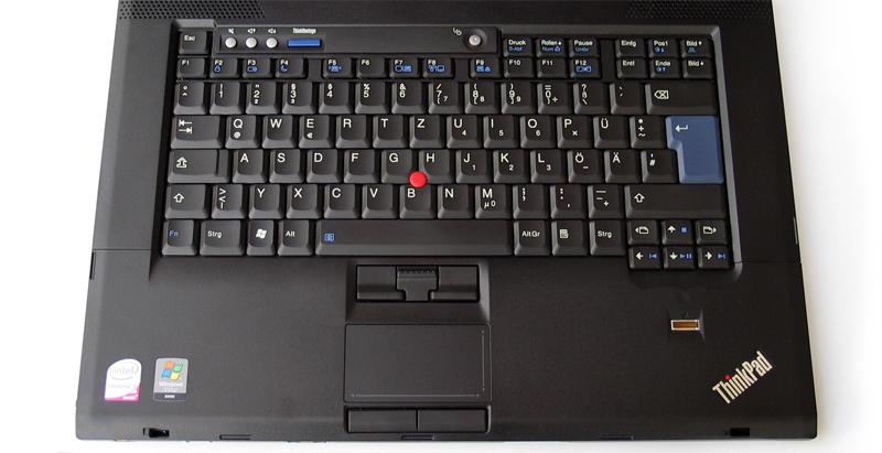 Lenovo T500 teclas