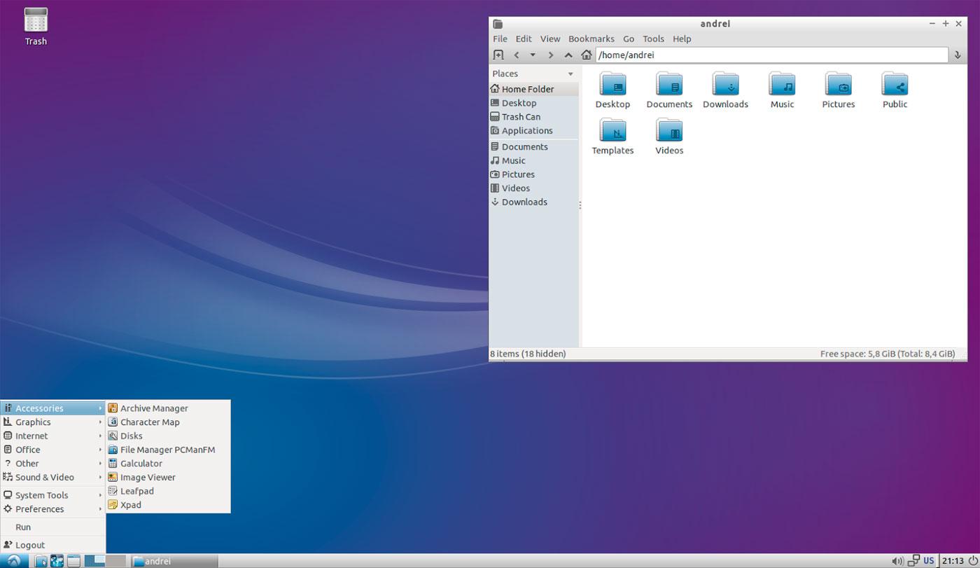 Linux lubuntu