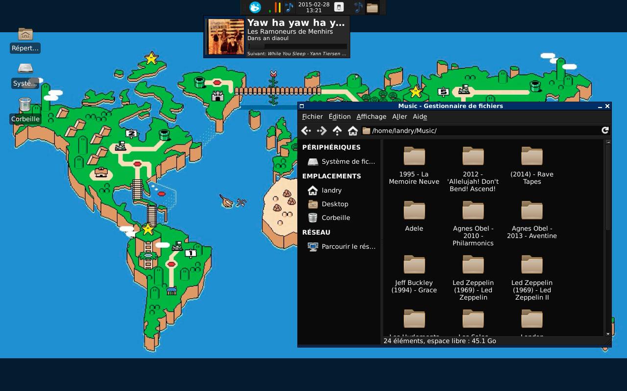 Linux escritorio Xfce