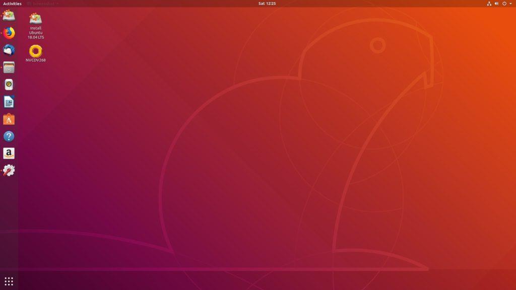 Ubuntu 18,04