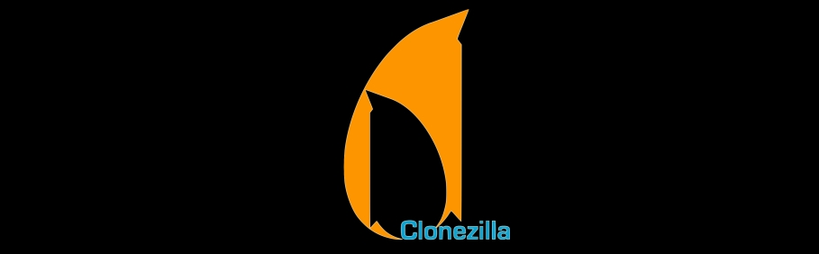 Clonezilla: Logo Oscuro