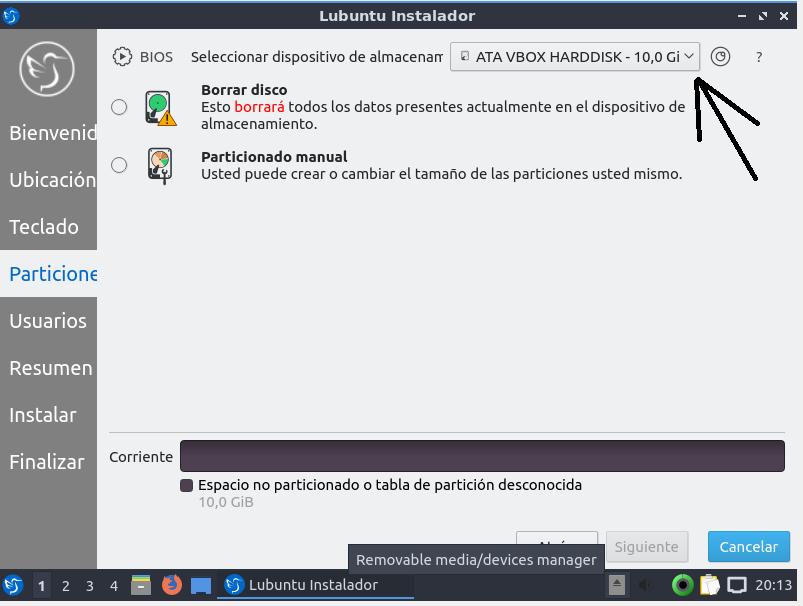 Lubuntu 18.10