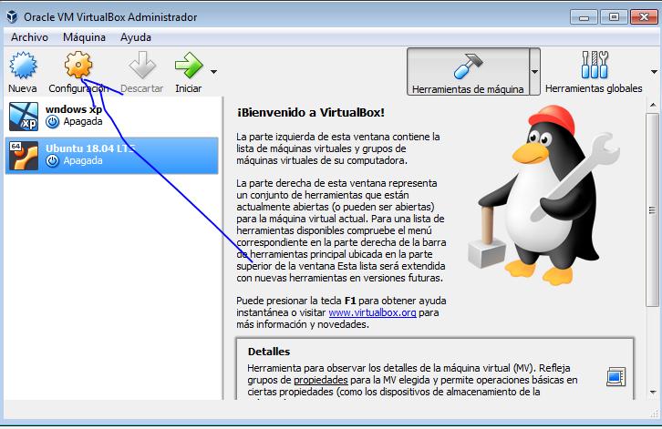 Ubuntu 18.04 pulsar en configuracion