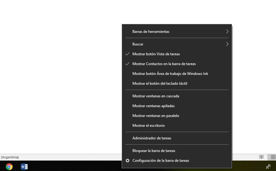acceder administrador de tareas windows 10