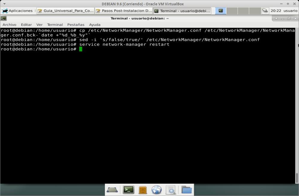 """Guia Post Instalación: Optimización del """"NetworkManager"""""""