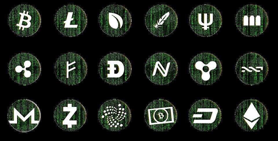 Criptomonedas: Ejemplo de diferentes Criptos