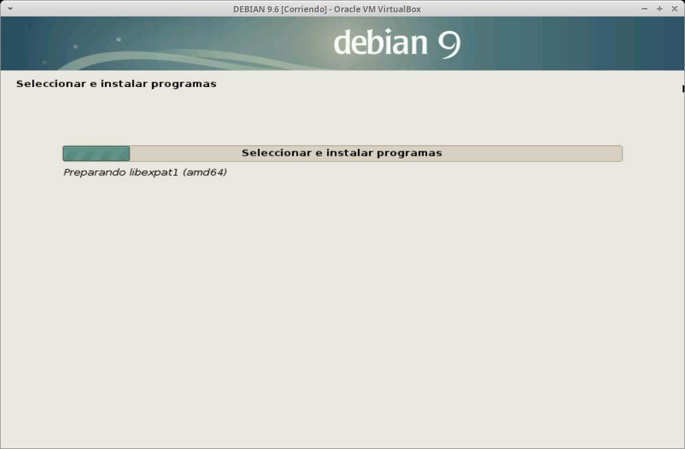 Paso 21 - Instalación de DEBIAN GNU/Linux 9.6
