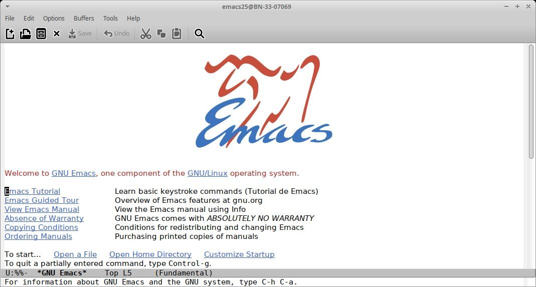 Guia Avanzada Post-Instalación 2: Editor Emacs