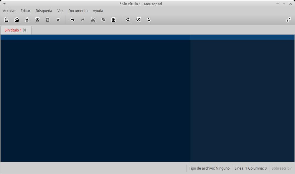 Guia Avanzada Post-Instalación 2: Editor Mousepad