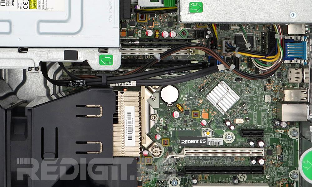 HP 8200 SFF componentes