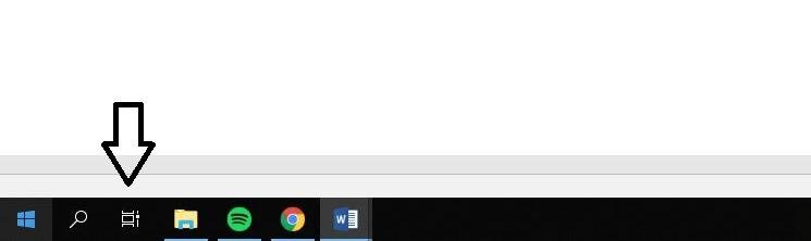 vista de tareas windows 10