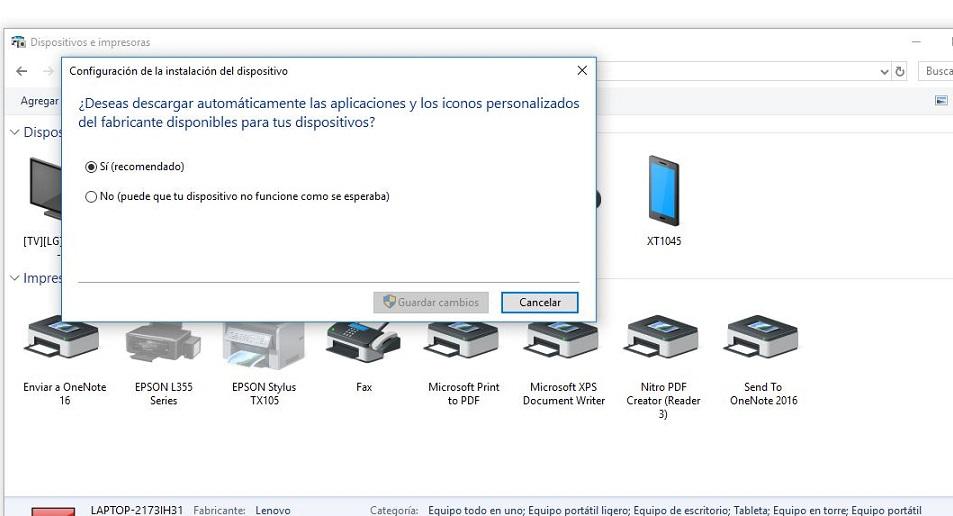 administrar actualizaciones de drivers windows 10