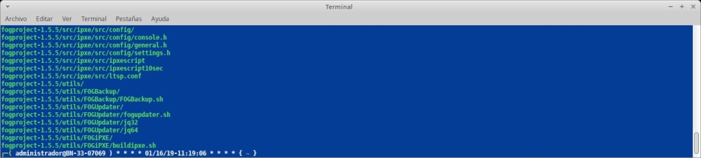 """Fog Project: Instalación con comando """"wget"""""""