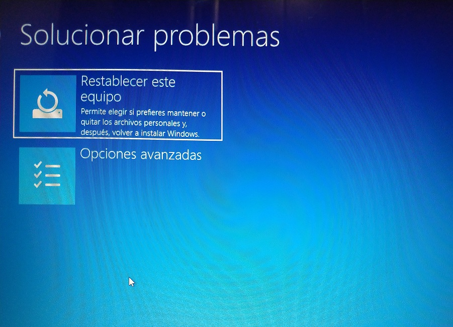 solucionar problemas windows 10