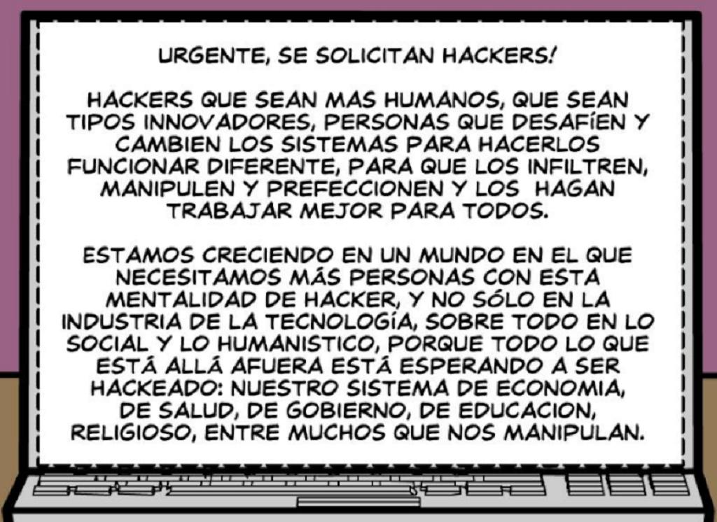 El Movimiento Hacker - Contenido: Se buscan Hackers