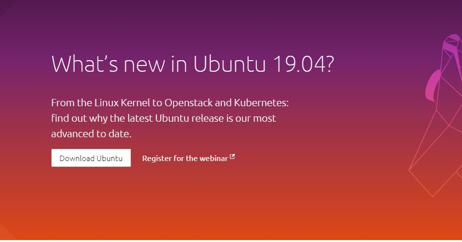 Ubuntu 19.04 descarga