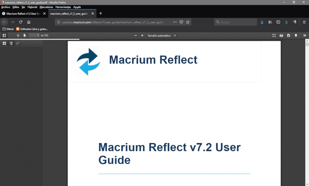 Macrium Reflect: Interface Gráfica - 35