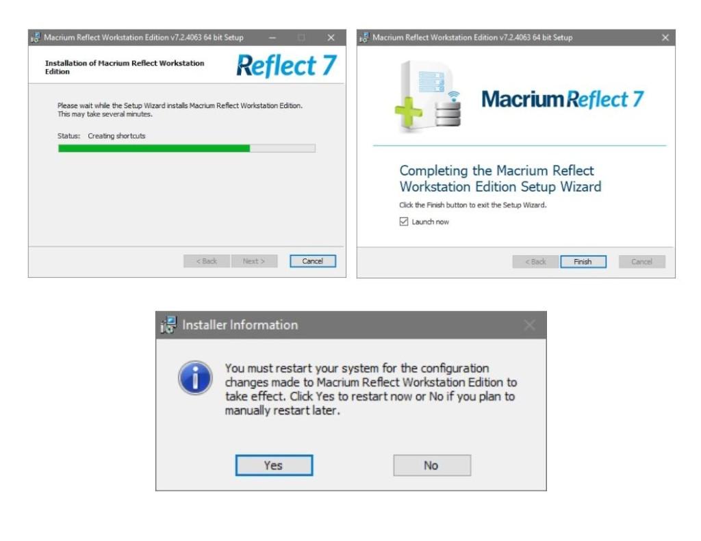 Macrium Reflect: Pasos de Instalación