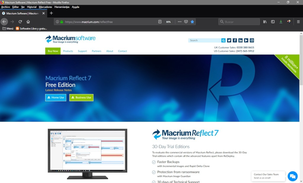 Macrium Reflect: Free Edition