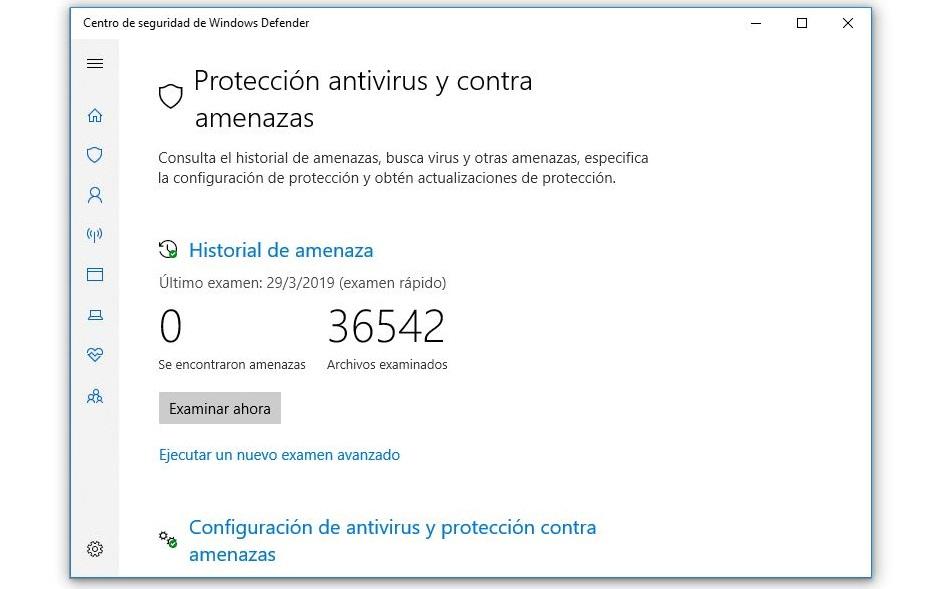 proteccion contra virus y contra amenazas