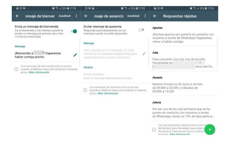 WhatsApp Business: Mensajes y Respuestas