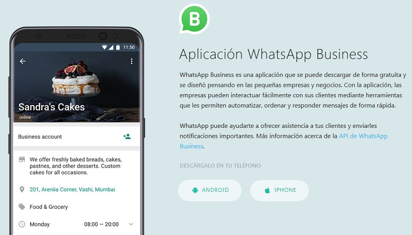 WhatsApp Business: Android y iOS