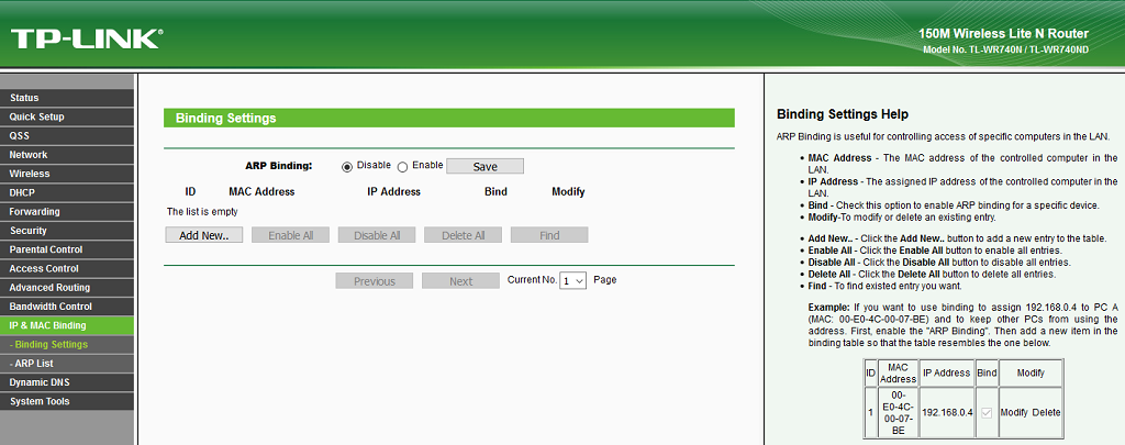 Wake on LAN (WoL) - Configuración: Configurar Enrutador TP-Link 4