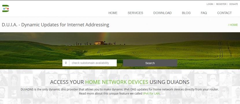 Wake on LAN (WoL) - Configuración: DUIA DNS