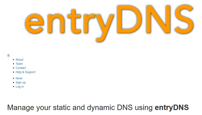 Wake on LAN (WoL) - Configuración: Entry DNS