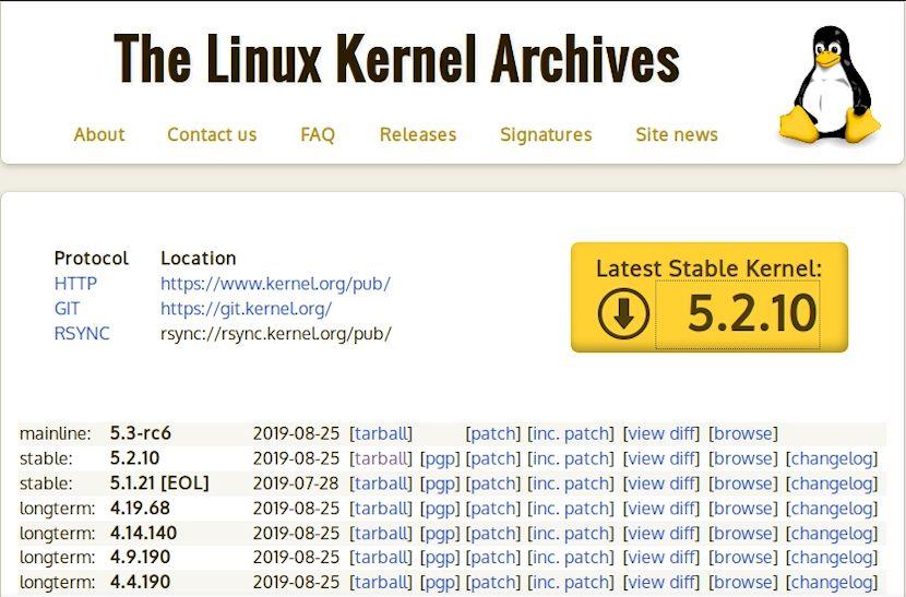 Kernel de Linux: Compilación - Paso 3.1