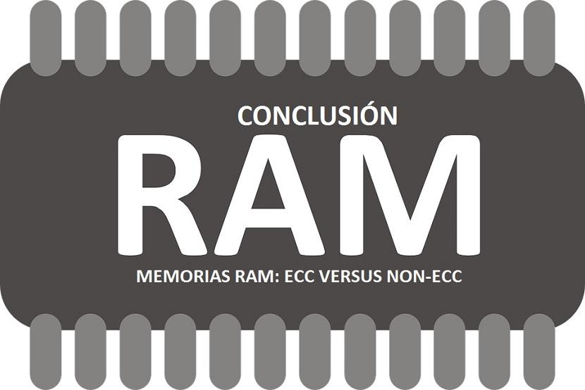 Memorias RAM: Conclusión