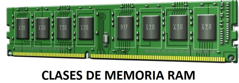 Memorias RAM: Clases
