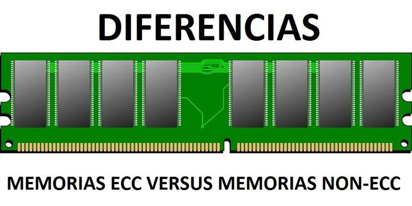 Memorias RAM: Diferencias entre ECC y Non-ECC