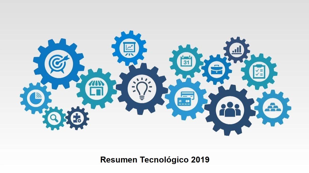 Resumen Tecnológico 2019: Contenido