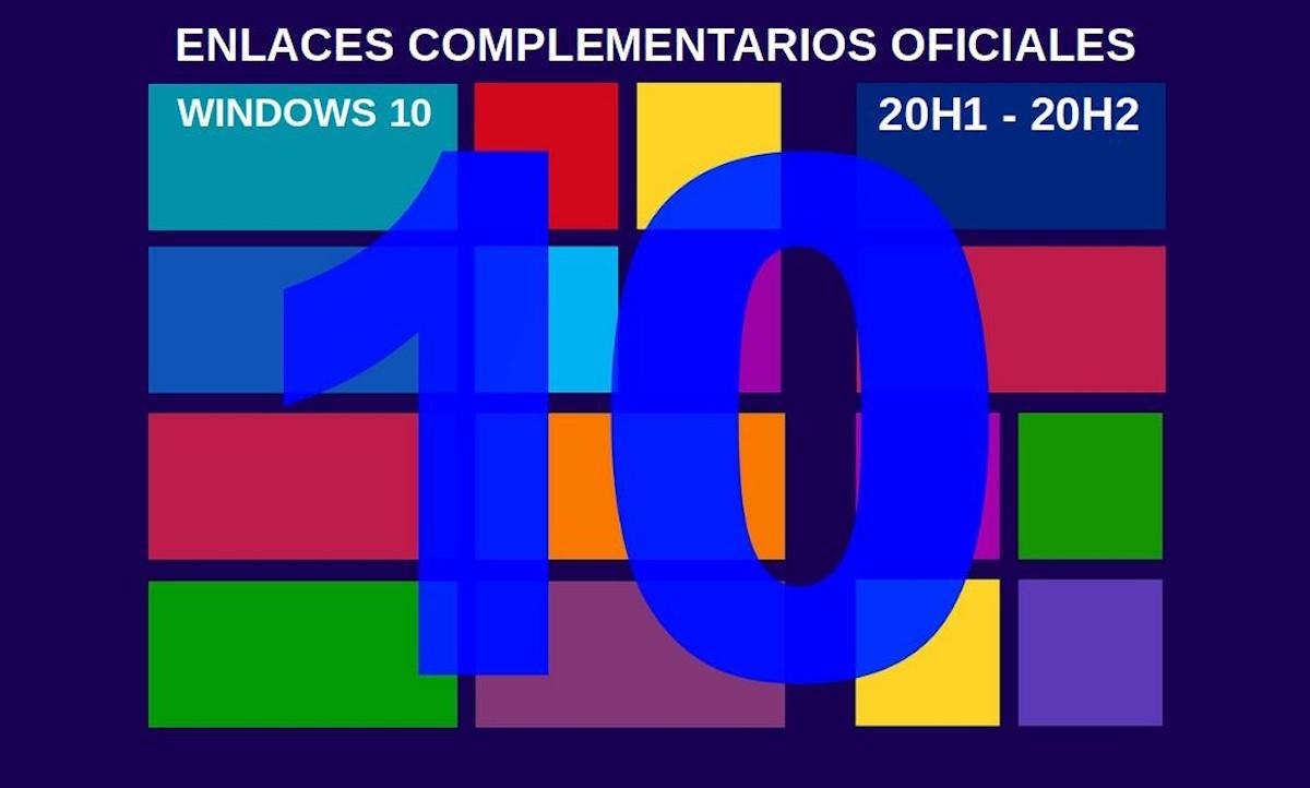 Windows 10: Enlaces complementarios