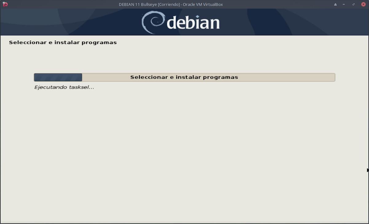 DEBIAN 11 - Bullseye: Instalación paso 12a