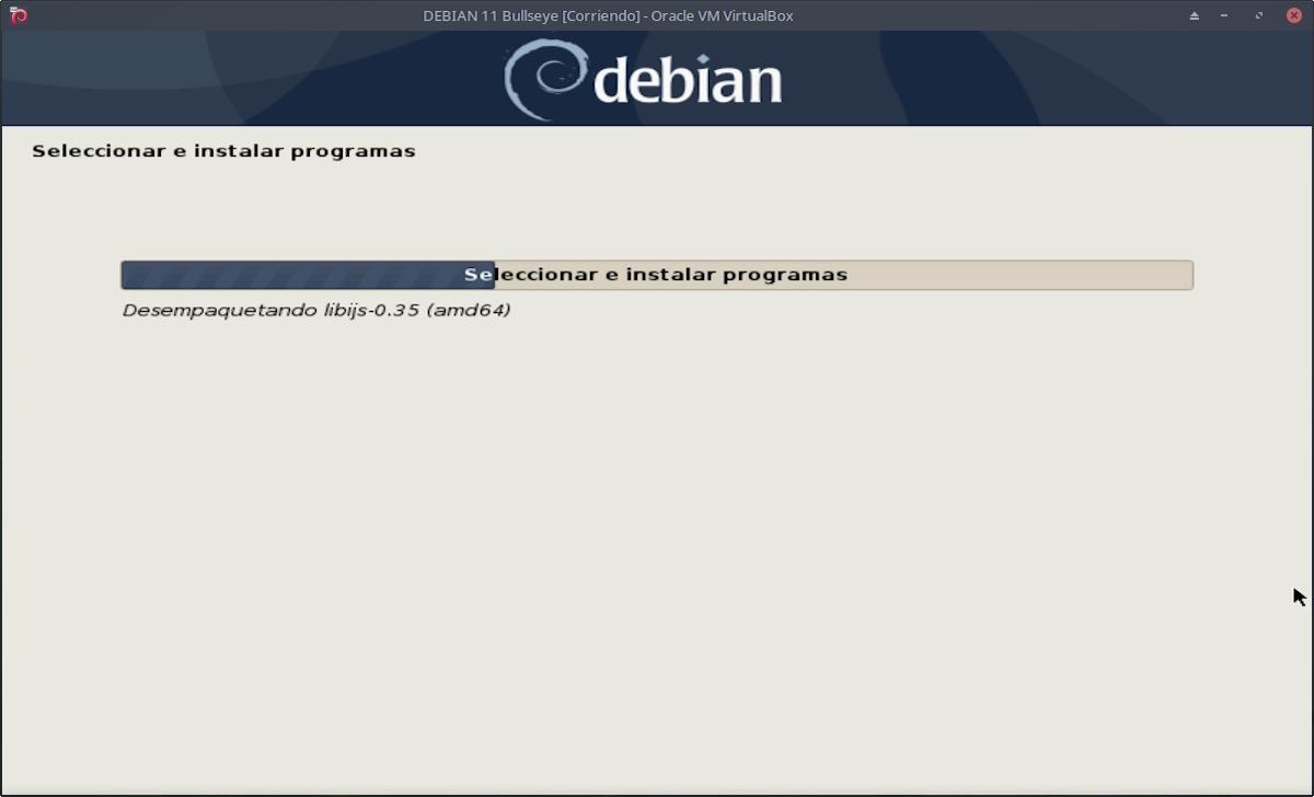 DEBIAN 11 - Bullseye: Instalación paso 12e
