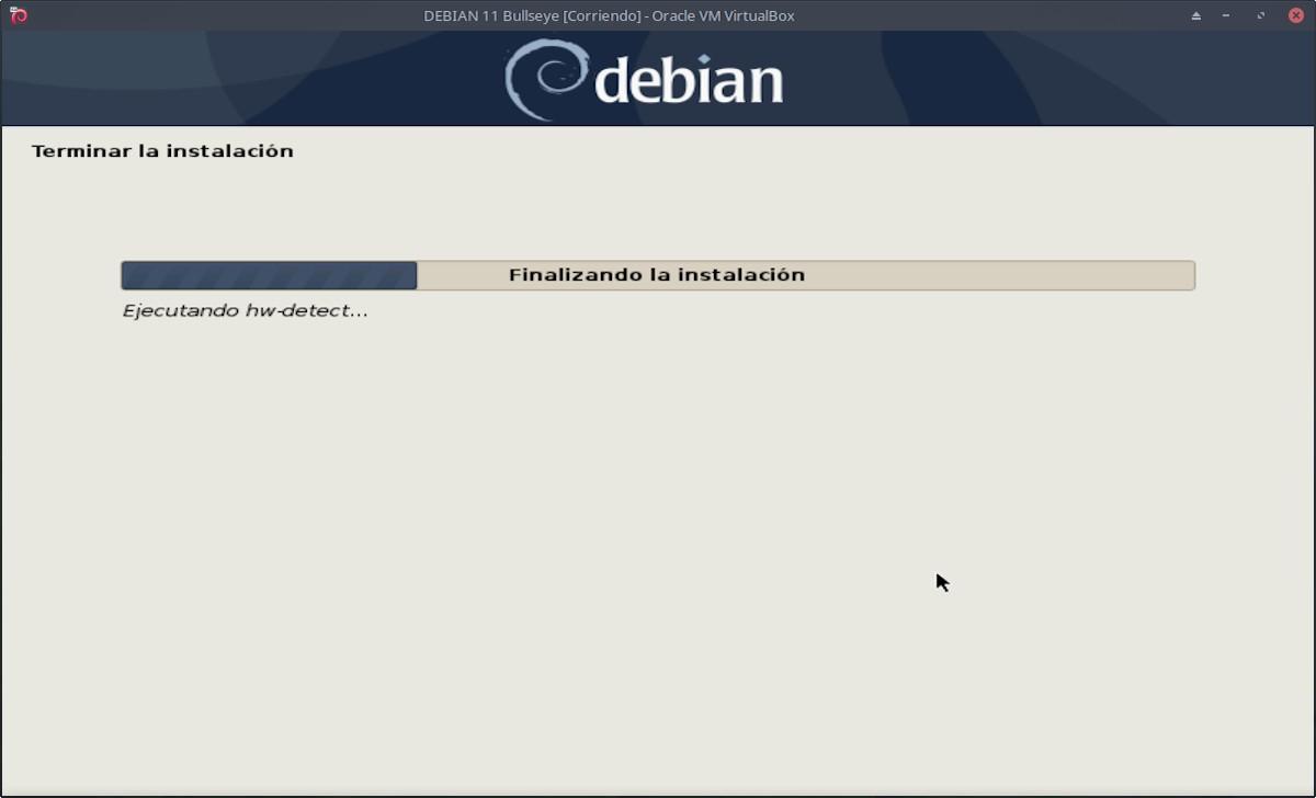 DEBIAN 11 - Bullseye: Instalación paso 14a