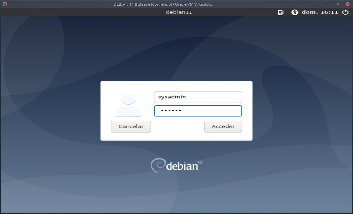 DEBIAN 11 - Bullseye: Instalación paso 15b