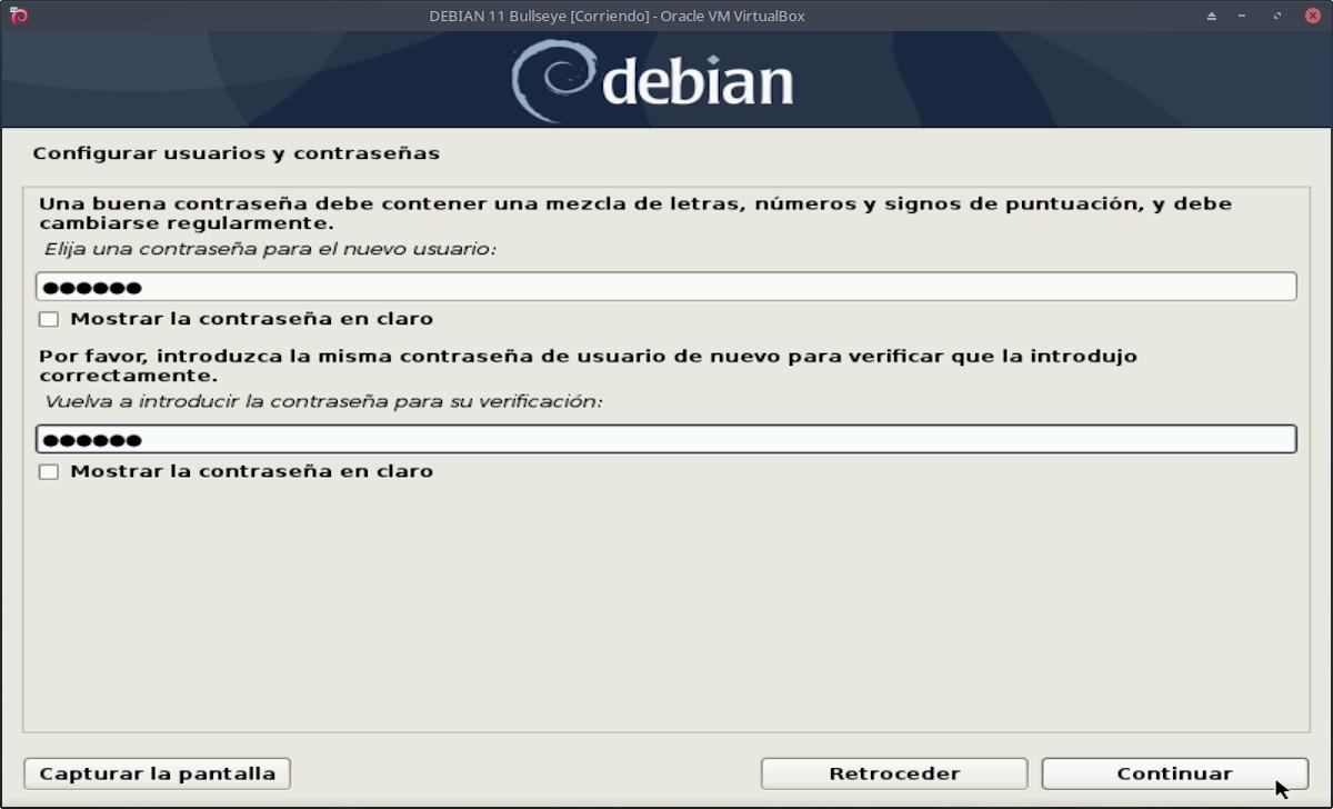 DEBIAN 11 - Bullseye: Instalación paso 7d