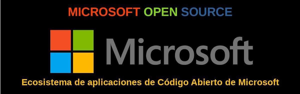 Microsoft Open Source: Ecosistema de aplicaciones de Código Abierto de Microsoft