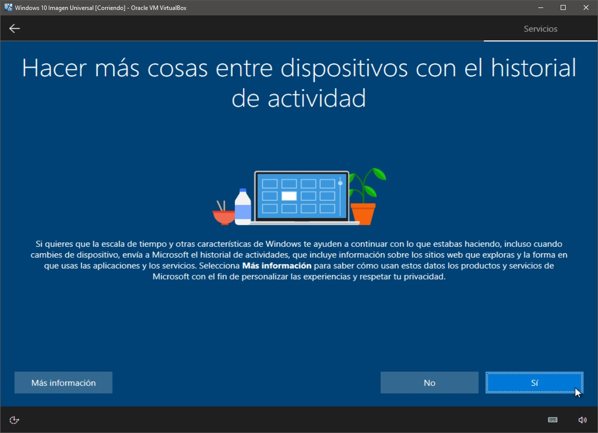 Windows 10: Instalación paso 13