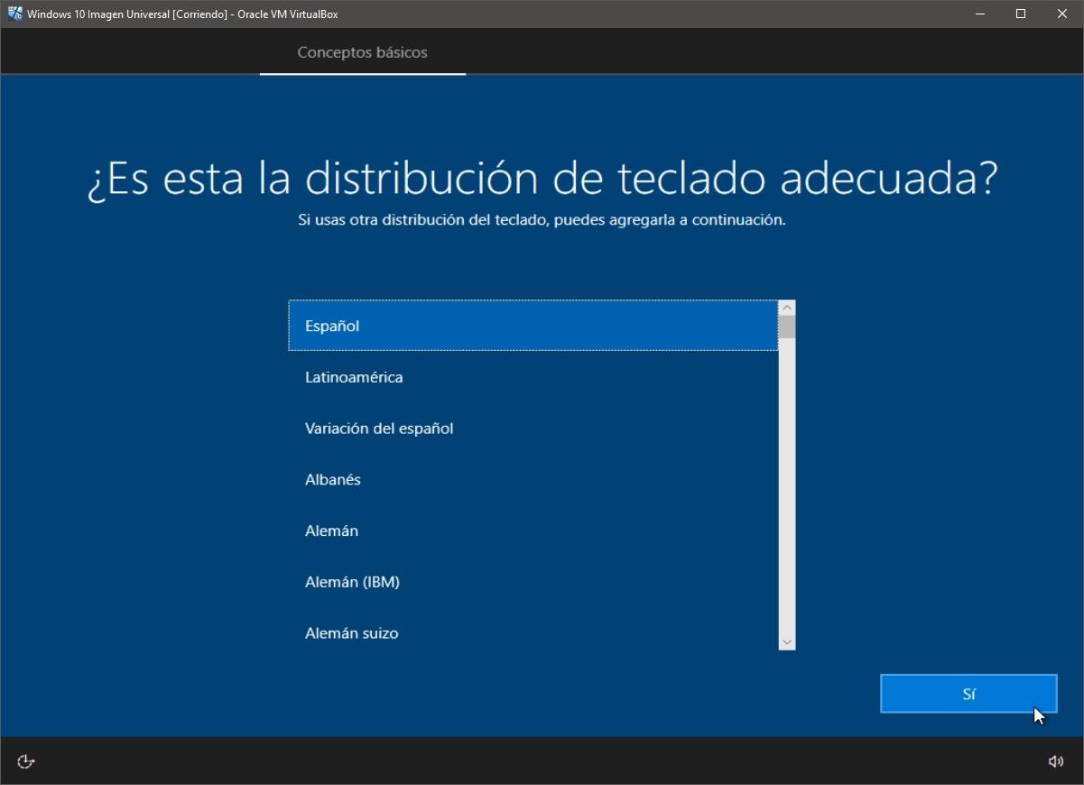 Windows 10: Instalación paso 6